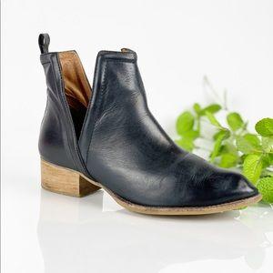Jeffrey Campbell Muskrat V-notch Instep Ankle Boot